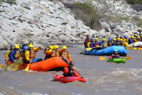 rafting ruta vertical